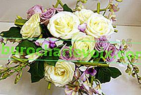 Blumenstrauß für einen Mann