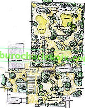 Denmans Garden - moderní klasika od Johna Brookse