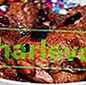 Патица с дюля в сос от червена боровинка
