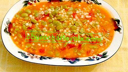 Суккоташ - полза от царевица, боб и тиква