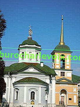 Kuskovo: Parterre-Palast und Gewächshäuser