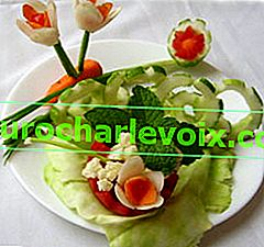 Прости зеленчукови декорации