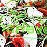 Pizza mit Pilzen, Mozzarella und Rucola
