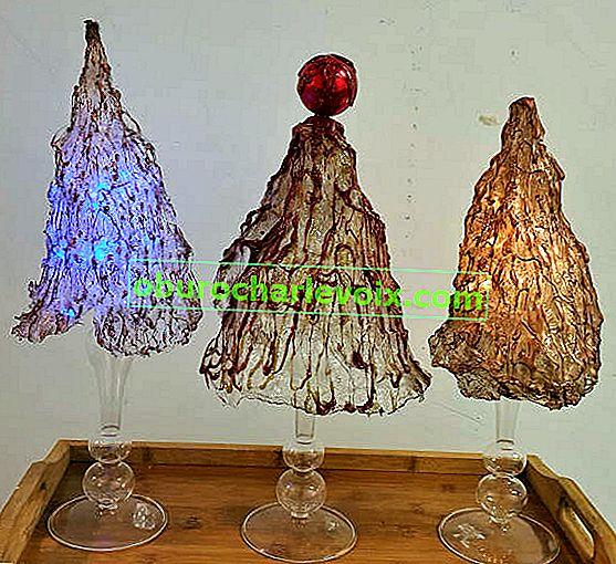 Weihnachtslampen - Weihnachtsbäume