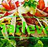 Kuřecí salát s hrozny a pistáciemi