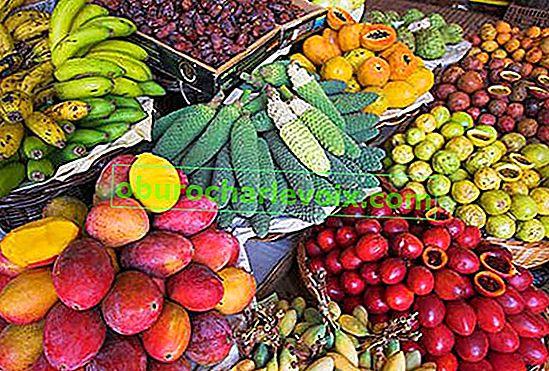 Echtes Gemüse und Obst ... aus Portugal