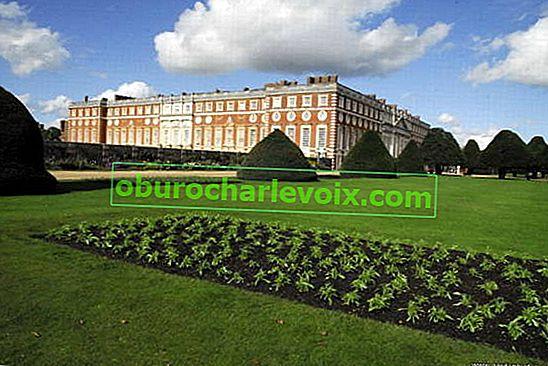 Fünf Jahrhunderte Hampton Court: die Teiche von Henry VIII, Englisch Holland,