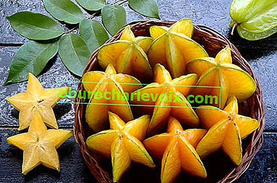 Carambola - hvězdné ovoce