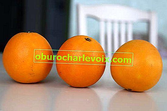 Nützliche Eigenschaften einer Orange