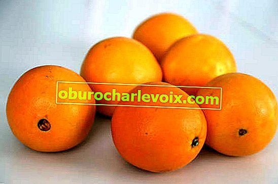 Orangensorten