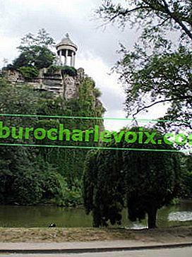 Buttes-Chaumont - ein Pariser Park, der in die russische Geschichte eingegangen ist