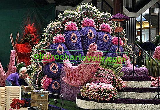 Парад на цветята в Холандия