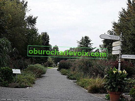 """Park """"Zahrady světa"""" v Berlíně"""